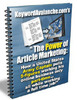 Thumbnail The Power of Article Marketing