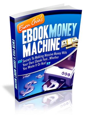 Product picture Ebook Money Machine - Ewen Chia