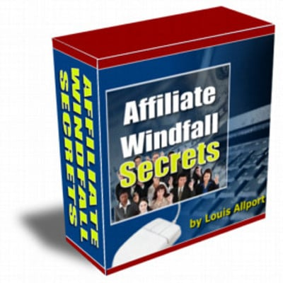 Product picture Affiliate Windfall Secrets - Louis Allport
