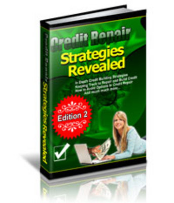Product picture Credit Repair Strategies Revealed