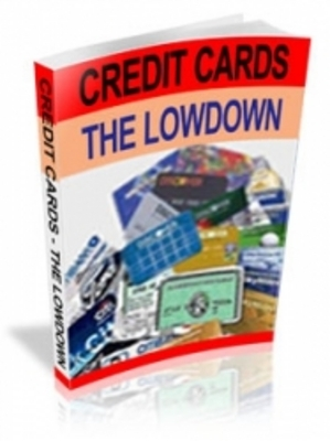 Product picture Credit Cards - The Lowdown