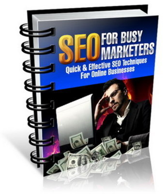 Product picture SEO For Busy Marketers + Special Related Ebook Gift